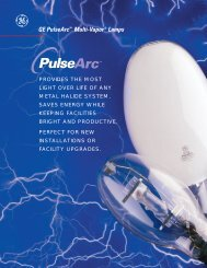 e GE PulseArc™ Multi-Vapor® Lamps - 1000Bulbs.com
