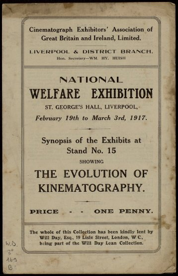 WELFARE EXHIBITION