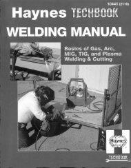 The Haynes Welding Manual - VolksPage.Net