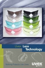 Uvex Lens Selection Chart