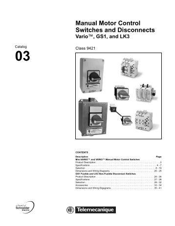 acc. to IEC 60947-3, EN 6