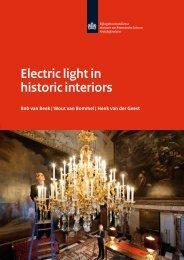 Electric light in historic interiors - Rijksgebouwendienst