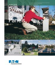 Power Outlet Panels - Eaton Canada