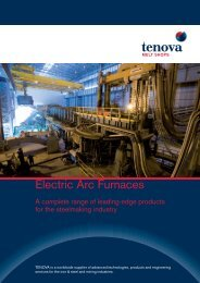 Electric Arc Furnaces - Tenova