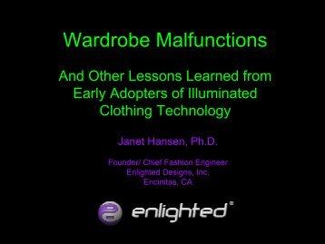 Wardrobe Malfunctions - Enlighted
