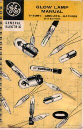 General Electric Glow Lamp Manual, 2nd Edition