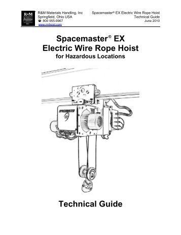 r&m spacemaster sx parts manual