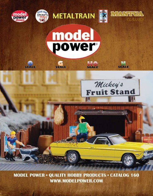 Model Power 5700 1//87 HO Scale TRACK LAYING CREW  6 Handpainted Railroad Figures