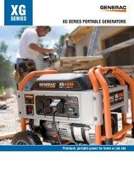 SerieS - Generac Power Systems
