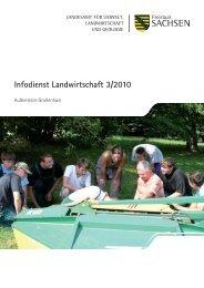 Infodienst Landwirtschaft 3/2010 -  Sächsisches Staatsministerium ...