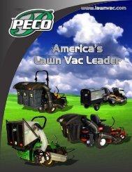 Peco Lawn Vacs - Heavy Duty Equipment