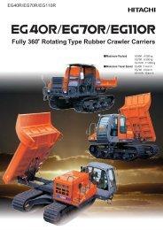 PDF (0.5MB) - Hitachi Construction Machinery