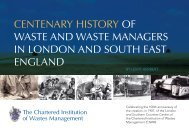 History of waste.indd - Chartered Institution of Wastes Management