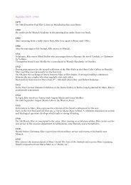 Biography Paul Klee and Franz Marc - Zentrum Paul Klee