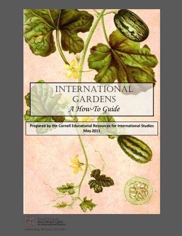 InternatIonal Gardens A How-To Guide - Mario Einaudi Center for ...