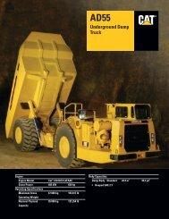 AD55 Underground Dump Truck, AEHQ5604