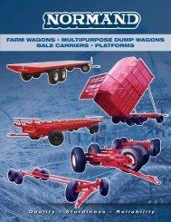FARM WAGONS • MultipuRpOSe DuMp WAGONS BAle ... - Normand