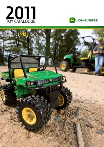 2011 John Deere Toy Catalogue - Beacon Equipment