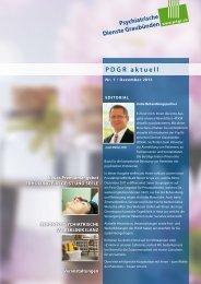 PDGR aktuell - Psychiatrische Dienste Graubünden