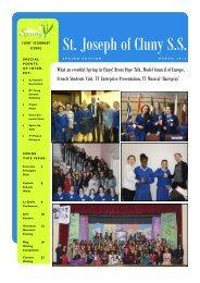Newsletter - Spring edition - March 2012.pdf - St. Joseph of Cluny