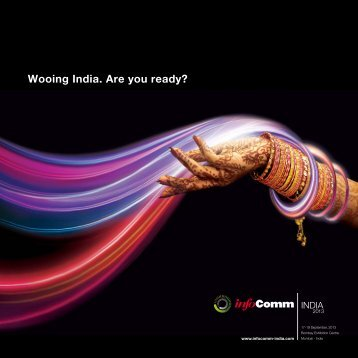 Sales Brochure - InfoComm India 2013
