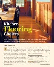 Kitchen Flooring Choices - Fine Homebuilding