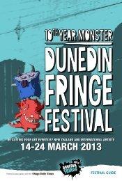 14e24 MARCH 2013 - Dunedin Fringe Festival
