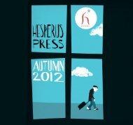 Autumn 2012 Catalogue (12.4 Mb) - Hesperus Press