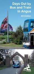 Days Out by Bus and Train in Angus - Angus Council