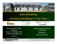 Solar Electricity – Coming to Buildings in Your Town - Energy, Mines ...