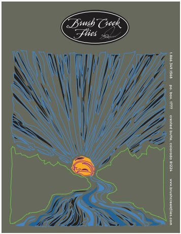 Click here to download a pdf copy of - Brush Creek Flies