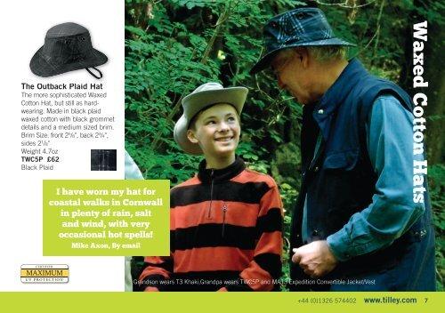 bd456b786 Waxed Cotton Hats An amaz