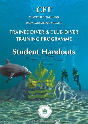 Club Diver Handout 2005 New - UCC Subaqua Club
