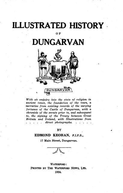 Dungarvan observer 20 6 2014 edition by Dungarvan