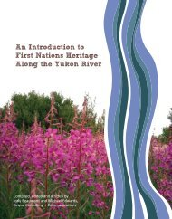 An Introduction to First Nations Heritage Along the Yukon River