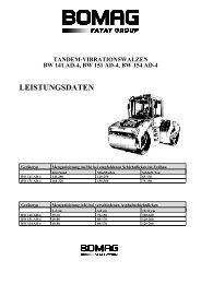TANDEM-VIBRATIONSWALZEN BW 141 AD-4, BW 151 AD-4, BW 154