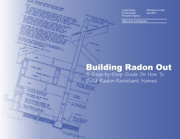 Building Radon Out - US Environmental Protection Agency
