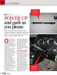Power uP and park as you please - EZ Power Steering