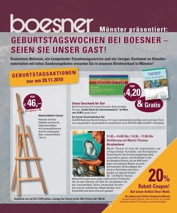 SEIEN SIE UNSER GAST! - Boesner