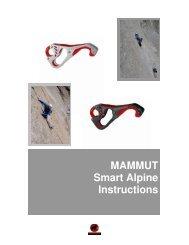 Smart Alpine Instructions - Mammut