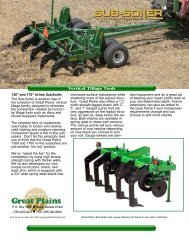 Vertical Tillage Tools