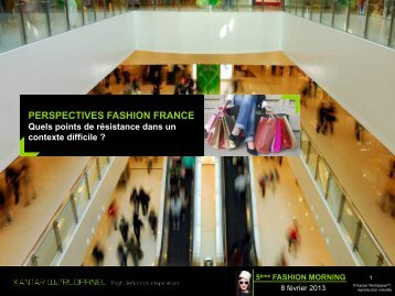 PERSPECTIVES FASHION FRANCE