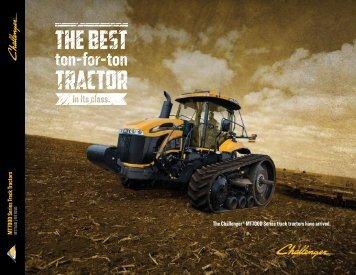 MT700D Series Track Tractors MT755D | MT765D - Challenger