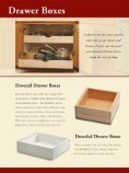 Dovetail Drawer Box Options - Page 2