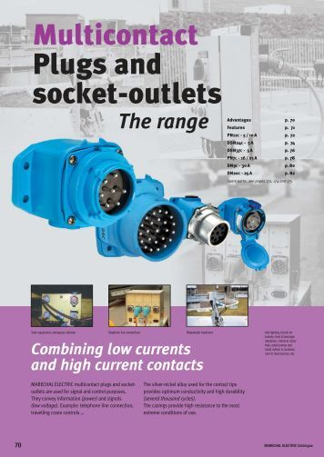 Multicontact Plugs and socket-outlets - Moeller