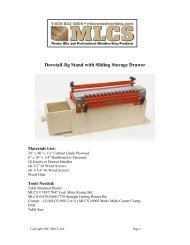Dovetail Jig Stand with Sliding Storage Drawer - MLCS Woodworking