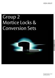 Group 2 - Mortice Locks - final - UNION