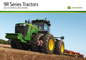 9R Series Tractors - Tuleu Consulting Company