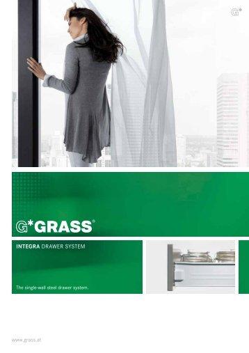 INTEGRA DRAWER SYSTEM - Grass