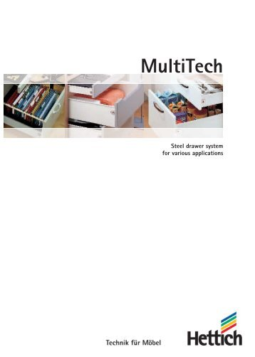 MultiTech catalogue - Hettich